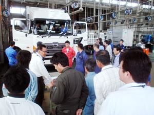 お客様向け講習会の開催(長野日野自動車)